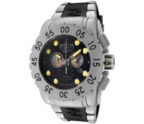 Herren-Armbanduhr XL Chronograph Kautschuk 799