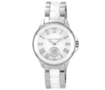 Damen-Armbanduhr Analog Quarz Keramik VC/5047WTSV