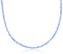Damen Halskette 925 Sterling Silber ERN-80-BA