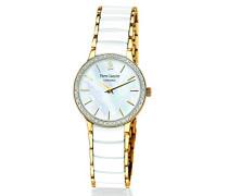 Damen-Armbanduhr Analog Quarz Keramik 045K590