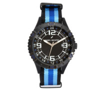 Daniel Hechter Herren-Armbanduhr Analog Quarz Textil DHH 002-3AA