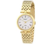 Regent Damen-Armbanduhr XS Analog Quarz Edelstahl beschichtet 12210896