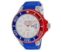 Jet Set Herren-Armbanduhr Wb30 Diver Analog Quarz Kautschuk J55223-25