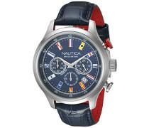 -Armbanduhr  Chronograph    NAI16520G_Silver Tone