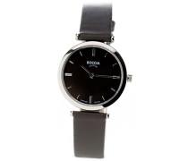 Damen-Armbanduhr Analog Quarz Leder 3253-02