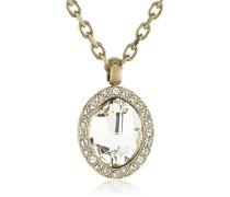 Damen Halskette Vergoldetes Metall Kristall Swarovski 336404