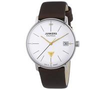 Junkers Damen-Armbanduhr XS Bauhaus Analog Quarz Leder 60734