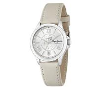 Damen Uhrenbeweger Collection KATY Leder grau R2351114503