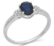 Damen-Ring 9 Karat (375) Weißgold Diamant 53 (16.9) SA920R2