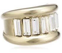 Damen-Ring Vergoldetes Metall Kristall Swarovski 336212