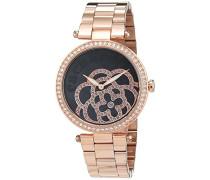 Damen-Armbanduhr Analog Quarz Edelstahl CLD 002-AM