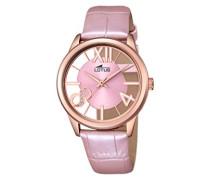 Lotus Damen-Armbanduhr Analog Quarz Leder 18306/1