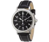 Herren-Armbanduhr XL Airspeed Quartz Chronograph Leder 17020.9537
