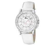 Damen-Armbanduhr Analog Leder 15747/1