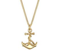 Damen-Halskette Silber vergoldet 45cm 01527344_45