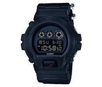G-Shock Herren Uhr Digital mit Textilarmband DW-6900BBN-1ER