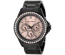 Damen-Armbanduhr Analog Quarz Edelstahl VC-5087RGBK