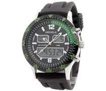Herren-Armbanduhr Analog - Digital Quarz Silikon OR22691144