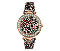 by Versace Damen-Armbanduhr Analog Quarz SQ1040013