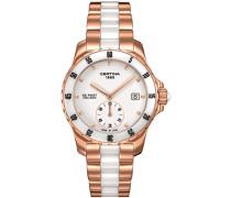 Certina Damen-Armbanduhr XS Analog Quarz Edelstahl beschichtet C014.235.33.011.00