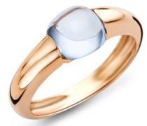 Damen-Ring 9 Karat (375) Gelbgold Topas 3.0ct Größe 52 MNA9072R2