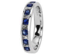 Jewelry Damen-Ring 925 Sterling Silber rhodiniert Zirkonia