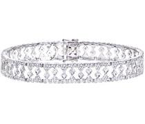 Damen-Armband 375 Weißgold 9 Karat