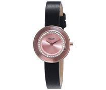 Regent Damen-Armbanduhr XS Analog Quarz Leder 12100580