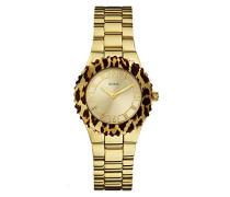 Damen-Armbanduhr Analog Quarz Edelstahl W0404L1