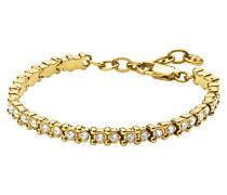 Damen-Armband ICONS NIVALIS SG Edelstahl teilvergoldet Kristall transparent Prinzess 20 cm - 334355