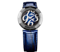 Damen-Armbanduhr XS Safira 24 Analog Leder J1.164.L