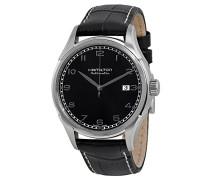 Hamilton Herren-Armbanduhr XL Analog Automatik Kautschuk H78615355