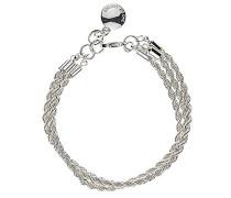 Damen-Armband Versilbertes Metall Hege 3 Stränge silber 308-3153001