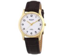 Regent Damen-Armbanduhr XS Analog Quarz Leder 12100563