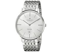 Hamilton Herren-Armbanduhr XL Analog Automatik Edelstahl H38755151