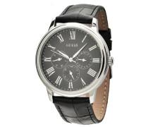 Herren-Armbanduhr Analog Quarz Leder W70016G1