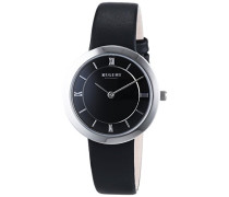 Regent Damen-Armbanduhr XS Analog Quarz Leder 12111129