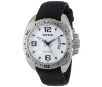 Herren-Armbanduhr XL 600 Analog Quarz Nylon R3251573003
