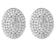 Damen-Ohrstecker 925 Sterling Silber rhodiniert Zirkonia weiß ZO-5184