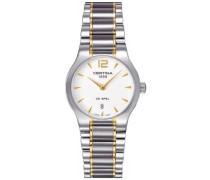 Certina Damen-Armbanduhr XS Analog Quarz Edelstahl C012.209.22.037.00
