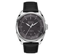 Herren-Armbanduhr Analog Automatik Leder 63B188