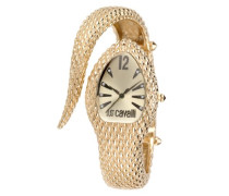 Just Cavalli Damen-Armbanduhr POISON Analog Quarz Edelstahl R7253153517