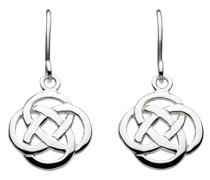 Ohrhänger aus Sterling-Silber mit Knotenmuster