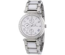 Damen-Armbanduhr Analog Quarz Premium Keramik Diamanten - ST13H05