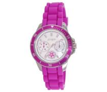 Damen-Armbanduhr Amsterdam Analog Quarz Kautschuk J50962-145