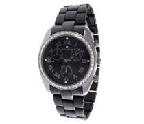 Damen-Armbanduhr Analog Quarz Premium Keramik Diamanten - ST13H10