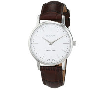GANT TIME Damen-Armbanduhr PARK HILL 32 Analog Quarz Leder W11401