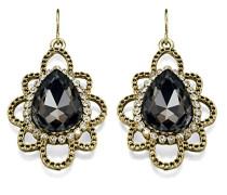 Costume Collection Damen-Halskette, mit Birnenförmige Ohrringe mit Kristallen