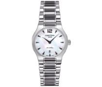 Damen-Armbanduhr XS Analog Quarz Edelstahl C012.209.11.117.00