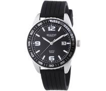 Herren-Armbanduhr XL Analog Quarz Silikon 11110664